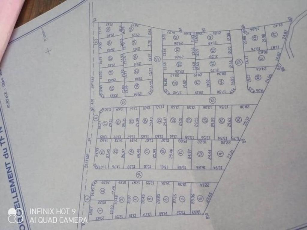 REF11131, Terrain a vendre Ouedo