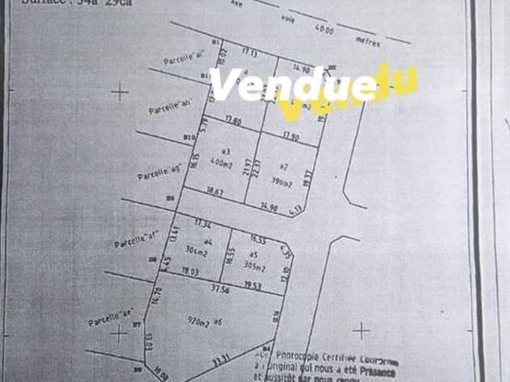 REF16502, Terrain a vendre  Tokan Aîdégnon
